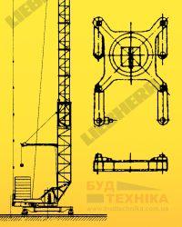 Поворотный круг башенного крана Liebherr 48 K