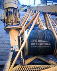 Редуктор каретки башенного крана Liebherr 48 K