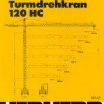 Башенный кран LIEBHERR 120 HC